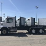 2004 VOLVO VHD64B200 DAY CAB WITH HOOKLIFT (3719)