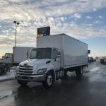 2018 HINO 338 26FT BODY WITH POWER TAILGATE (H18019)