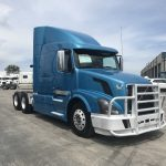 2008 VOLVO VNL64T630 CONVENITONAL TRUCK WITH SLEEPER (38050-1)