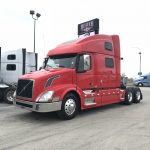 2013 VOLVO VNL64T780 CONVENTIONAL TRUCK WITH SLEEPER (3812)