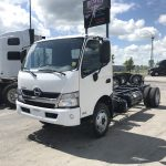 2019 HINO 195D-161-AS-A-H-19 CAB AND CHASSIS (H19006)