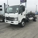 2019 HINO 195D-161-AS-A-H-19 CAB AND CHASSIS (H19011)